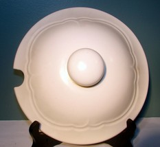"""Pfaltzgraff Tea Rose Stoneware 7-3/4"""" Tureen Lid - $23.75"""