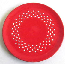 "WAECHTERSBACH ""Love Hearts"" Collectible Red Novelty Side Plate Made In G... - $18.99"