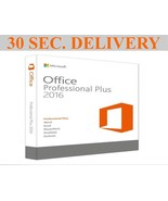 Microsoft Office Pro Plus 2016 License Key Life Time Activation + Downlo... - $19.99