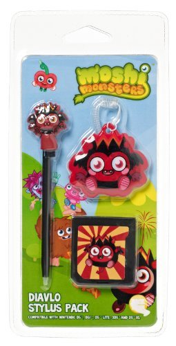 Primary image for Moshi Monsters Stylus Pack Dialvo For Nintendo DS Lite/DSi/3DS/New 3DS XL [video