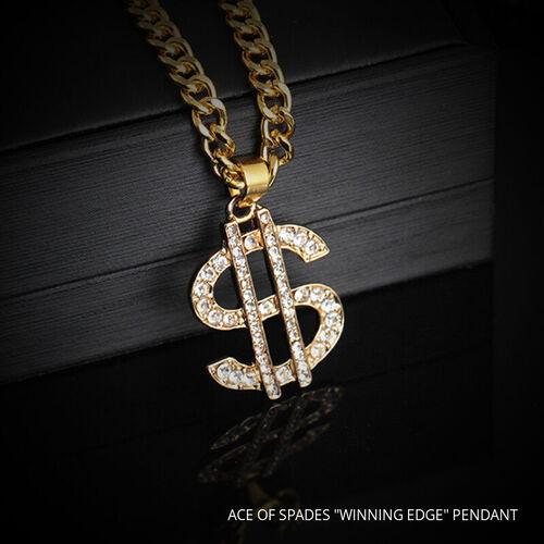 "ACE OF SPADES ""WINNING EDGE"" Pendant  - $189.00"