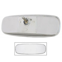 64 65 66 Ford Mustang Inside Chrome Glass Standard Rear View Mirror  - $34.95