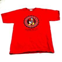 Walt Disney world official  Donald Duck Tshirt attitude academy Large re... - $9.49