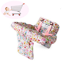 Baby Shopping Trolley Cart Seat Protective Pad Kid Child High Chair Cover - $41.00