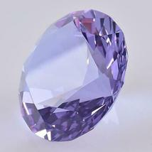 Ship From USA 100mm Clear Crystal Diamond Paperweight Home Wedding Decoration Cr image 5