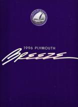 1996 Plymouth BREEZE sales brochure catalog US 96 - $6.00