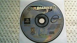 Cool Boarders 3 (Sony PlayStation 1, 1998) - $3.45
