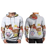Hello Kitty And Brown Scooter Hoodie Fullprint Men - $44.99
