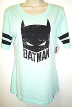 Dc Comics - Batman - Aqua - Black - Tee - Medium - 7/9 - New - Justice League - $11.69
