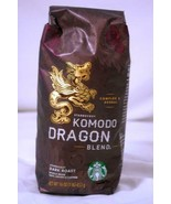 Starbucks Komodo Dragon Blend Dark Roast Whole Coffee Beans 16 oz. Bag NEW - $8.99