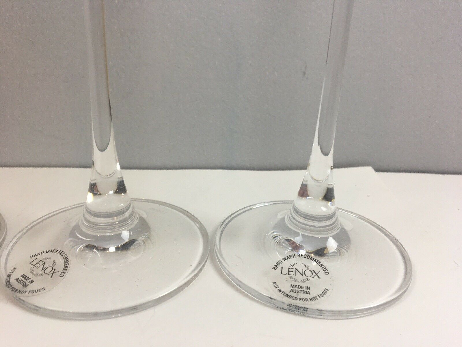 Lenox Tuscany Classics Collection 3x White Wine Glasses Orig Box Replacement image 3