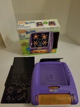 LITE BRITE, Hasbro Flat Screen Toy, Purple!  Excellent Condition! - $12.46