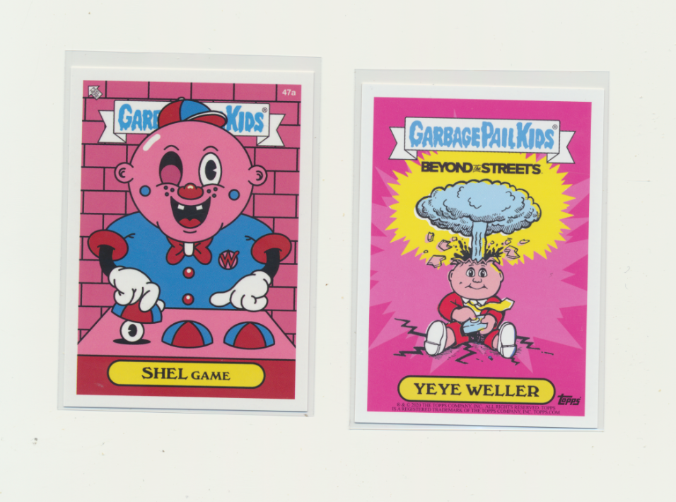 2020 Topps Garbage Pail Kids GPK x BTS Beyond The Streets Shel Game 47a - $3.00