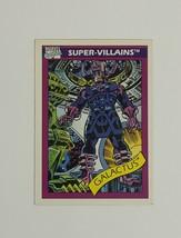 Marvel Universe 1990 Series 1 75 Galactus Trading Card Super-Villains - $1.97