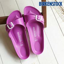 Birkenstock Madrid Waterproof Eva Sandals Flats Flip Flops Shoes 6 Rose Pink NIB - $35.00
