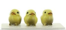 Hagen Renaker Miniature Bird Tweety Baby Chicks Yellow Set of 3 Figurines