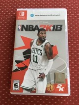 NBA 2K18 Early Tip-Off Weekend (Nintendo Switch, 2017) TESTED - $15.00
