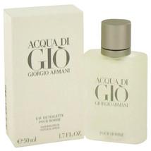 Acqua Di Gio Cologne By Giorgio Armani Eau De Toilette Spray 1.7 Oz Eau De Toil - $64.95