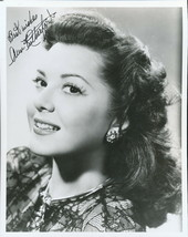 Ann Rutherford signed photo. Gone With The Wind star. Classy !! - $27.95