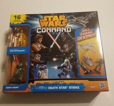 Star Wars Command Episode 4 Death Star Strike Skywalker Vader 16 figures... - $19.99