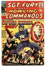 Sgt. Fury And His Howling Commandos #13 1964-marvel-captain America-jack... - $181.88