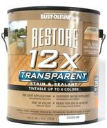 1 Can Rust-Oleum 122 Oz Restore 12X Transparent Golden Oak Stain & Sealant - $28.99