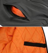 Men's Multi Pocket Water Resistant Industrial Uniform Quilted Bomber Work Jacket image 5
