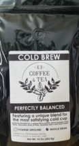 EZ Coffee and Tea Cold Brew Blend Whole Bean Coffee - 10 oz - Freshly Roasted - $15.95