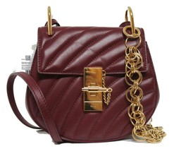New Chloe Drew Mini Bijou Chain Quilted Calf Leather Messenger Bag - $1,370.04