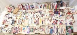 Mixed Lot 93 Vintage Sewing Patterns Butterick McCalls Vogue Uncut - $98.99