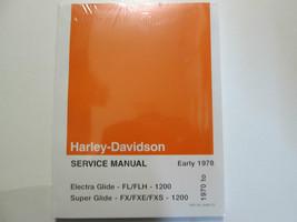 1976 1977 1978 Harley Davidson Electra Super Glide Servizio Set Nuovo - $198.72