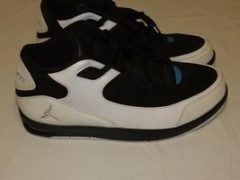 Nike Air Jordan Scarpe Uomo Raro USA 11 LN3 Basket 428825-105 Bianco Nero - $197.94