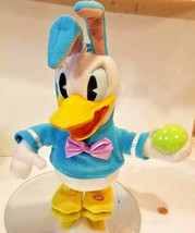 Donald Duck Electronic Singing and Dancing plush Disney easter theme bun... - $0.98