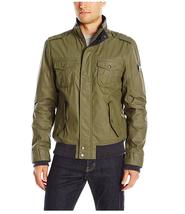 Buffalo David Bitton Men's Doubled Faced Waffle Fashion Jacket, Green, L. - $148.49