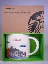 Starbucks Chicago You Are Here Collection Mug Cup NEW in Box Skyline, L ... - $29.39