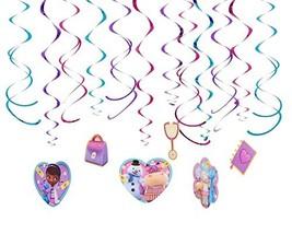 Foil Swirl Value Pack Decorations | Disney Doc McStuffins Collection | P... - $11.76