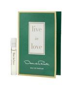 New Oscar de la Renta Eau de Parfum Toilette fragrance vial perfume choo... - $5.99