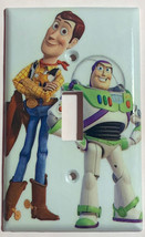 Toy Story Woody Buzz Lightyear Light Switch Outlet wall Cover Plate Home Decor image 1