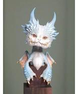 Unpainted 8CM High Kawayi Dragons Resin Model Kit Figure Free Shipping - $55.00