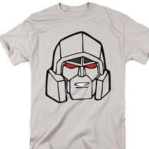 Transformers Megatron T-shirt retro 80s toys cartoon graphic printed grey tee image 1