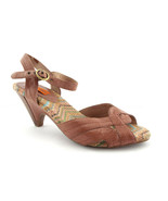 MIZ MOOZ Size 7.5 WILMA Brown Ankle Strap Sandals Shoes 7 1/2 - $44.00