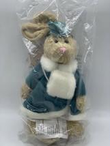 "Boyds Plush Rabbit Emily Holiday Rabbit in Coat w/ Muff 10"" New 9150-36 - $17.82"