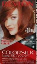 Revlon ColorSilk Beautiful Color ~ 42 Medium Auburn ~ Color Hair Dye - $11.88