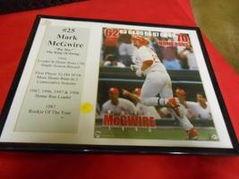 Great Collectible Baseball Photo Print- MARK McGWIRE 70 Homeruns - $12.46