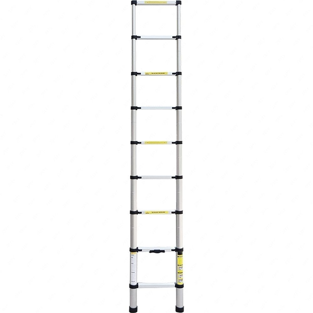 10.5 FT Aluminium Multi-Purpose Telescopic Ladder Extension Foldable Steps