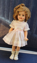 Vintage 1950s Vinyl Shirley Temple Doll ressed - $102.85