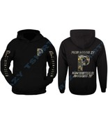 NEW POWERSTROKE CAMO HOODIE BLACK DIESEL POWER FORD TRUCK FRONT AND BACK - $34.99