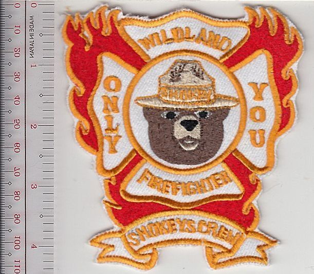 Smokey the bear hot shot wildland fire crew usfs new mexico lincoln national forest 10.99