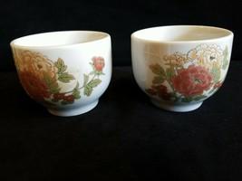 2- Vintage Made In Japan  Tea Cup~Floral design - $12.00
