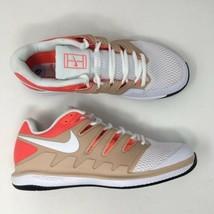 Nike Air Zoom Vapor X HC Men's SZ 9 Beige White Tennis Shoe Sneaker AA80... - $91.31